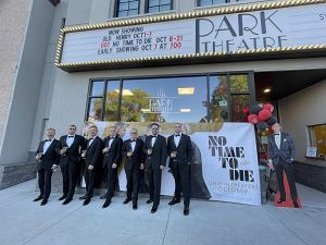 Photo of 7 James Bonds at Park Theatre in Jaffrey NH