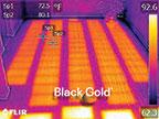 Black Gold electric radiant floor heat film