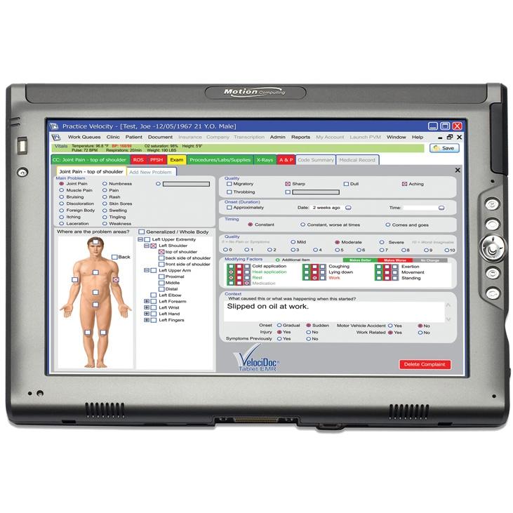 VelociDoc® Urgent Care EMR