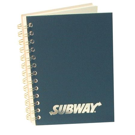 Journal Notebook, Featuring Subway® Logo