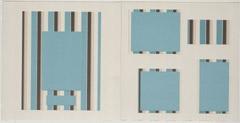 Teal Design Pages for Scrapbooks
