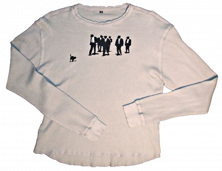 """Masons Underground """"Dogfaces""""  Longsleeve Thermal Shirt"""