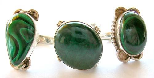 malachite gem stone jewelry supplier wholesale malachite rings, pendants earring