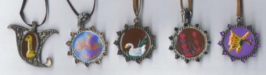 Antique jewelry gift online shopping for these enamel