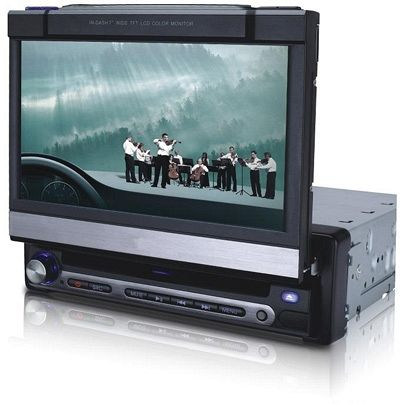 one din Touch Screen DVD player with RDS