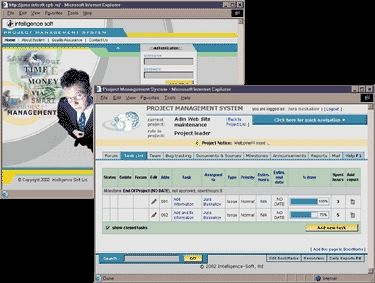 Intelligence-Soft Web-based Project Management System